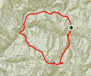Mallard-Larkins Loop Map