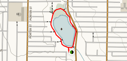 Lakeside Loop Map