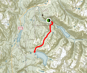 Helm Creek Trail Map