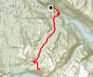 Helm Creek and Panorama Ridge Map