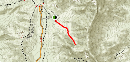 Aztec Cave Trail Map