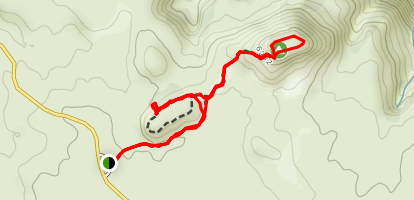 Aztec Butte Trail Map