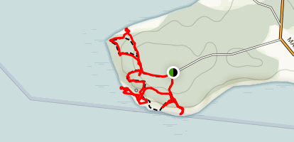 Lobster Cove Head Map