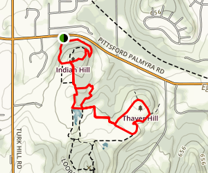Thayer Hill Loop Map