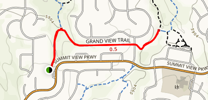 Grand View Trail Map