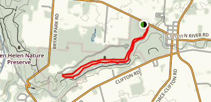 Pittsburg-Cincinnati Stage Coach and South Gorge Loop  Map