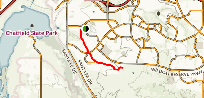 Spring Gulch Trail Map