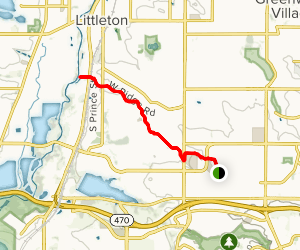Lee Gulch Trail to the South Platte River Map
