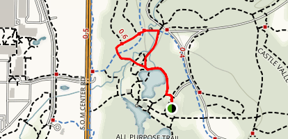 Buttermilk Falls Trail Map