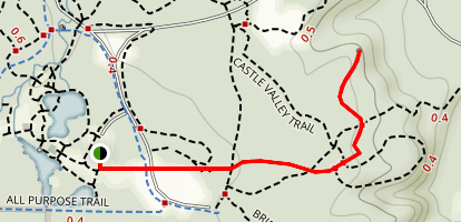 Museum Trail to Overlook Map