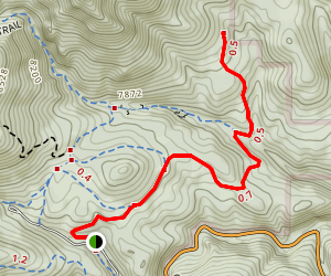 Mountain Lion Trail to Quarry Map