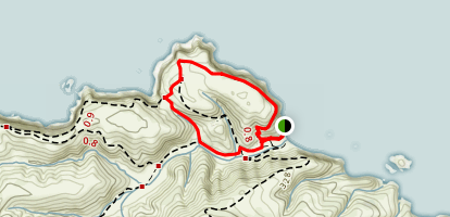 Cavern Point Loop Map