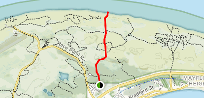 Dune's Edge Campground Trail Map