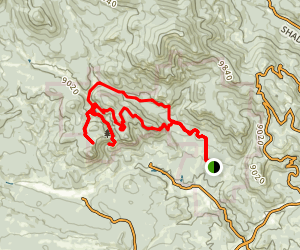 Elk Falls and Elk Falls Overlook Loop Map