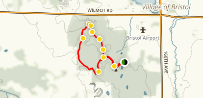 Bristol Woods Green Loop Map