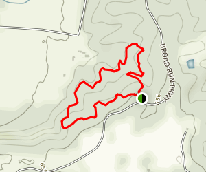 Limestone Gorge Loop Map