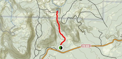 June Lake Trail Map