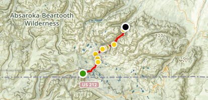 The Beaten Path Trail Map