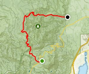 Rim to Reno Trail to Upper Thomas Creek Trail Map