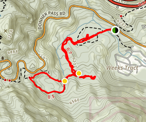 Donner Summit Canyon Map