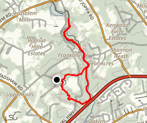 Sherwood and Little Gunpowder Trail Loop Map