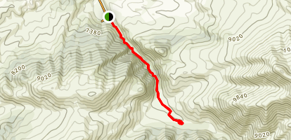 Bekin Baiserkeev Trail Map