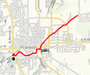 Franklin Greenway Trail Map