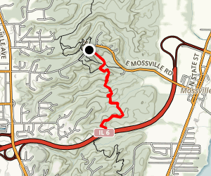 South Robinson Trail Map