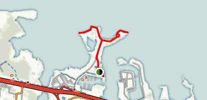 Ferry Point Landing Trail  Map