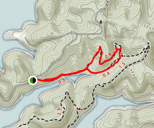Millennium Trail Loop Map