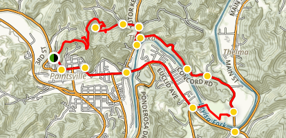 Red Jacket-Concord Trail  Map