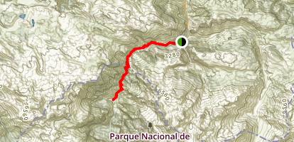 Cares Gorge: Picos de Europa Map