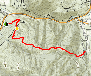 Dunns Ridge  Map