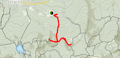Mt. Rand and W. Quarry Mountain Peaks Map