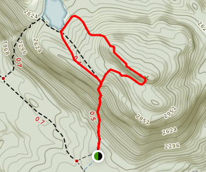 Crane Mountain Path Loop Map