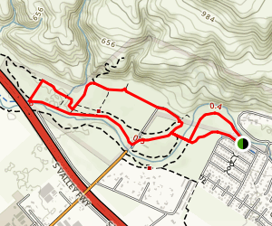 Coyote Creek Trail Loop Map