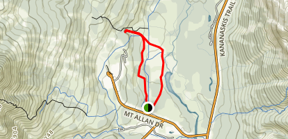 Hay Meadows and Troll Falls Loop Map