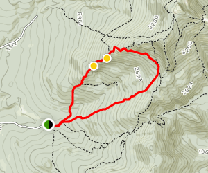 Frost Trail to Butler Lodge Trail Loop Map