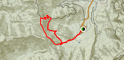 Bristlecone, Bonanza, No Name Loop Map