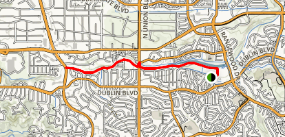 Cottonwood Creek Trail Map