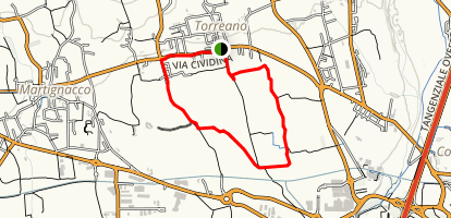 Loop Ceresetto South  Map