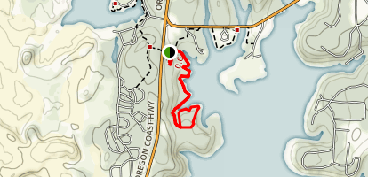Woahink Lakeside Trail Map