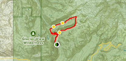 Tahoma Creek Suspension Bridge to Emerald Ridge Loop Map