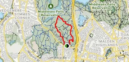 East Dam Road Loop Map
