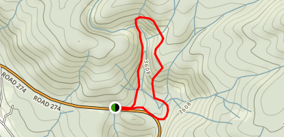Angel Falls Loop Map