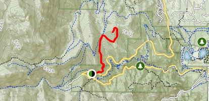 Mays Peak Map