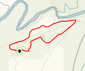 Tipi Ridge Trail Map