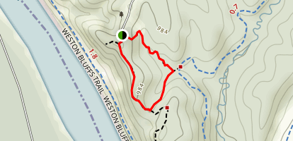 Harpst Trail Map