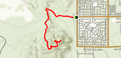 James Brown Trail Map
