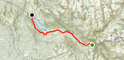 JMT/Piute Canyon to Florence Lake Map